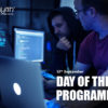 13th September: DAY OF THE PROGRAMMER