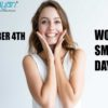 First Friday in October: World Smile Day
