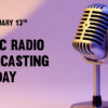 13th November: Public Radio Broadcasting Day