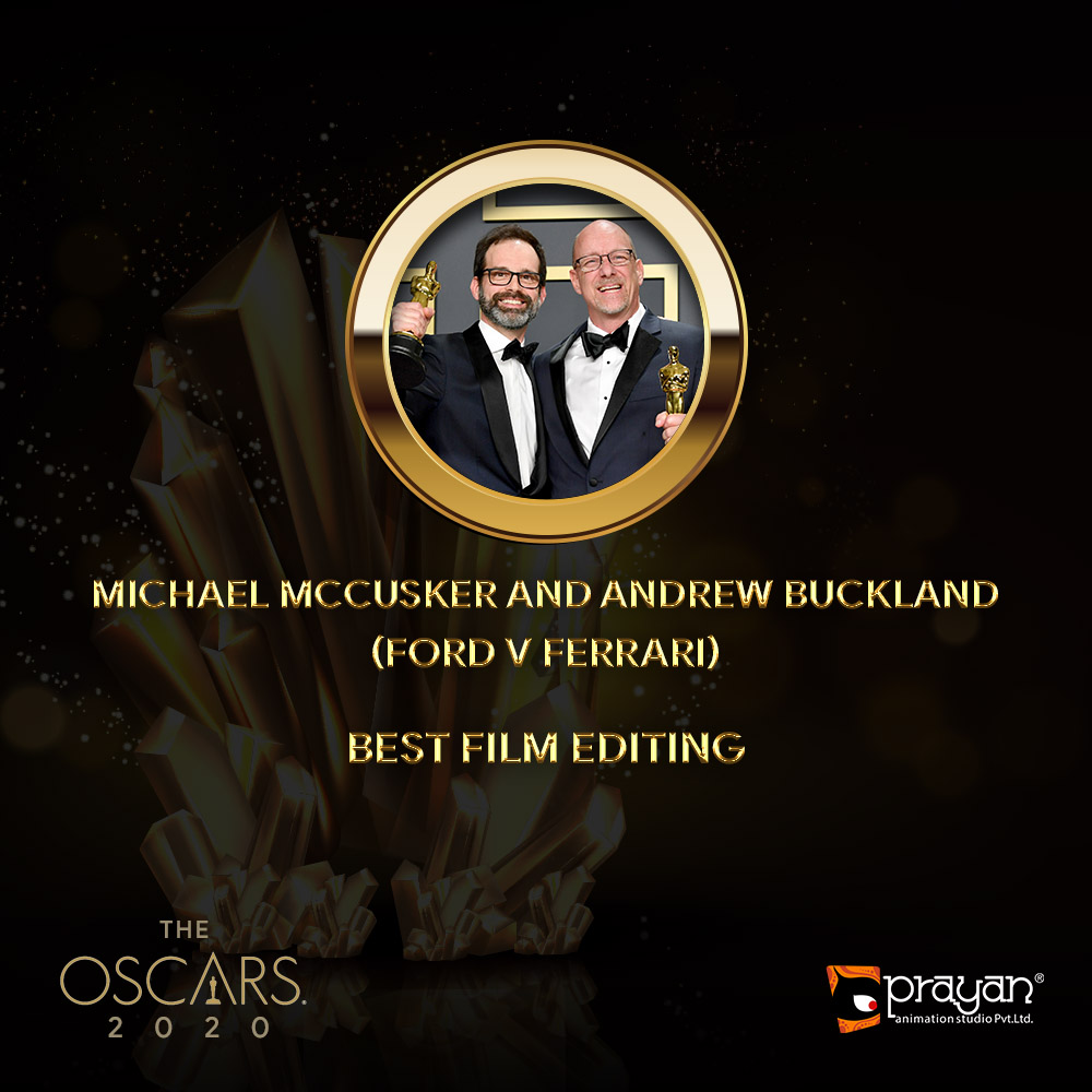 Michael McCusker and Andrew Buckland